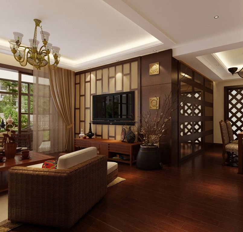 Living Room And Dining Room Design: 15 Beautiful Asian Dining Room Ideas