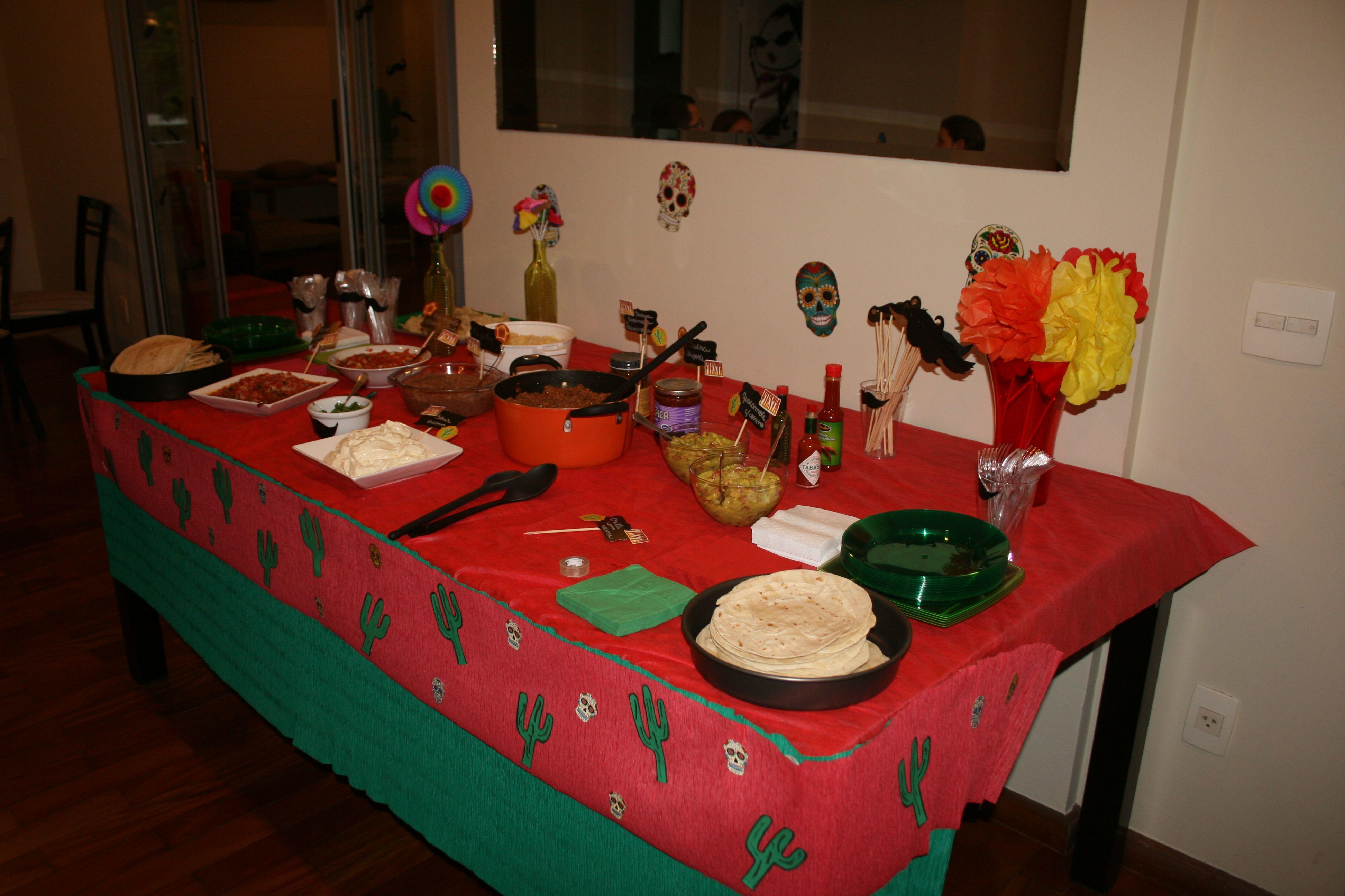 Decoração Festa Mexicana