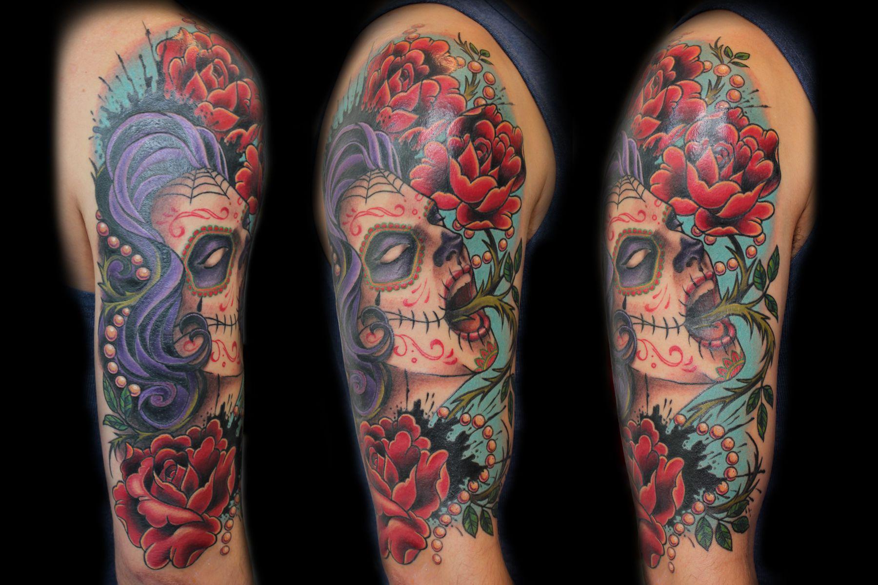 Muertos sleeve
