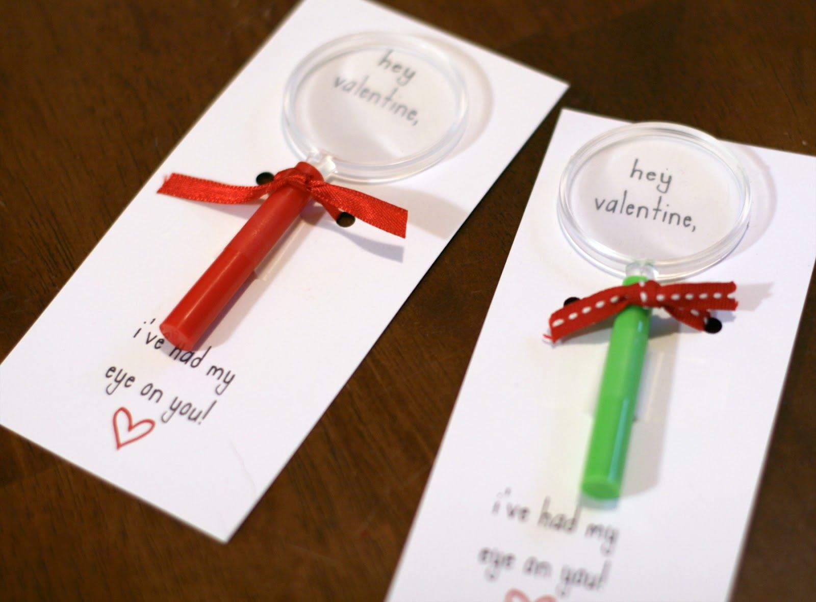 Magnifying Glass Valentine S Cards