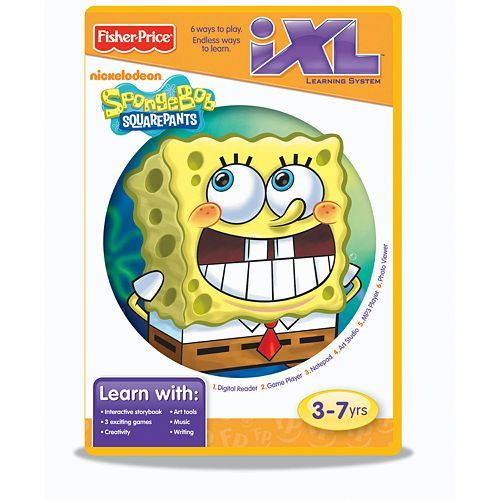 Spongebob Squarepants Ixl Learning System Software By