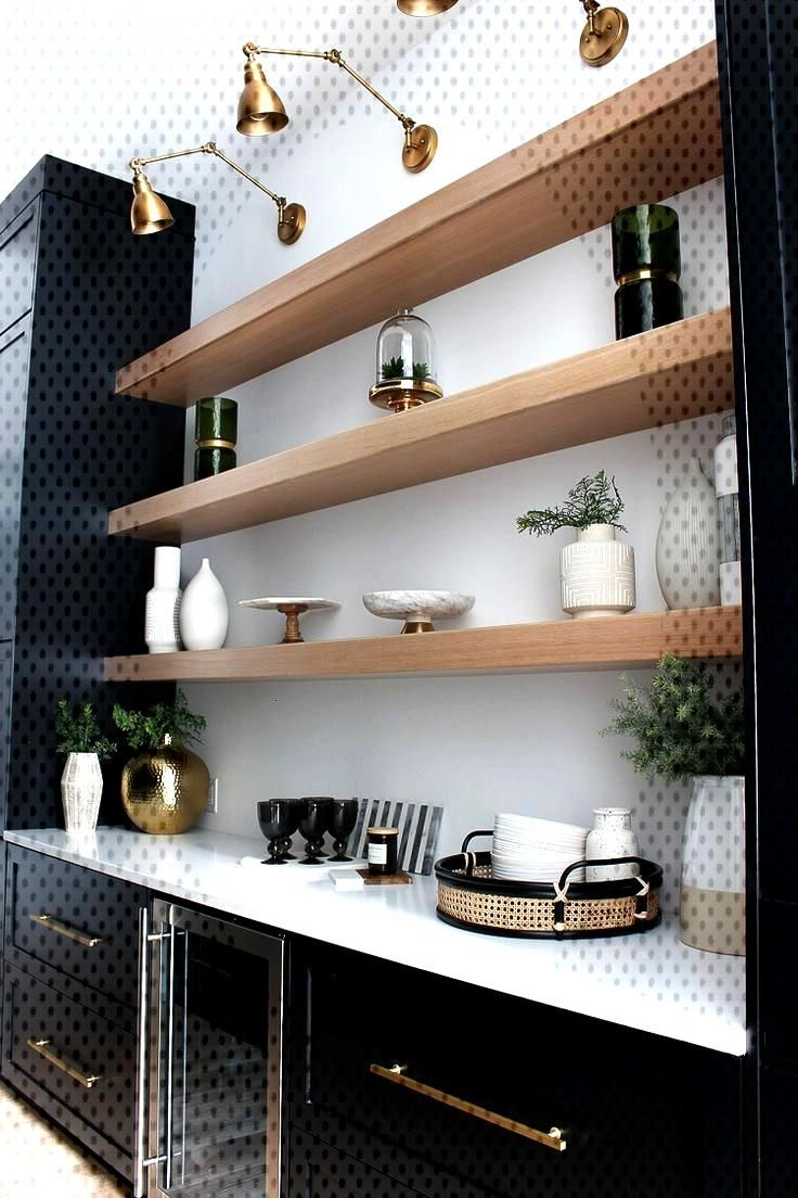 The Forest Modern Notre Chic Black Butlers Pantry