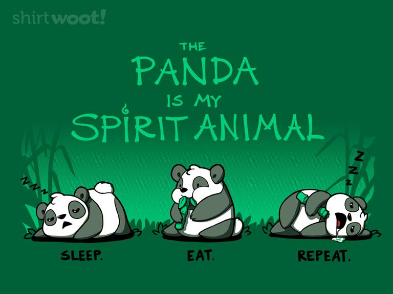 The Panda Is My Spirit Animal 11.00 Spirit animal