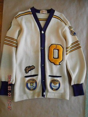 Vintage High School Lettermen S Sweater Embroidered Patches Letterman Sweaters Senior Jackets Varsity Sweater