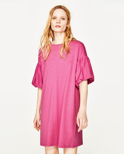 8f833f6b Image 2 of PUFF SLEEVE DRESS from Zara | My Style | Dresses with ...