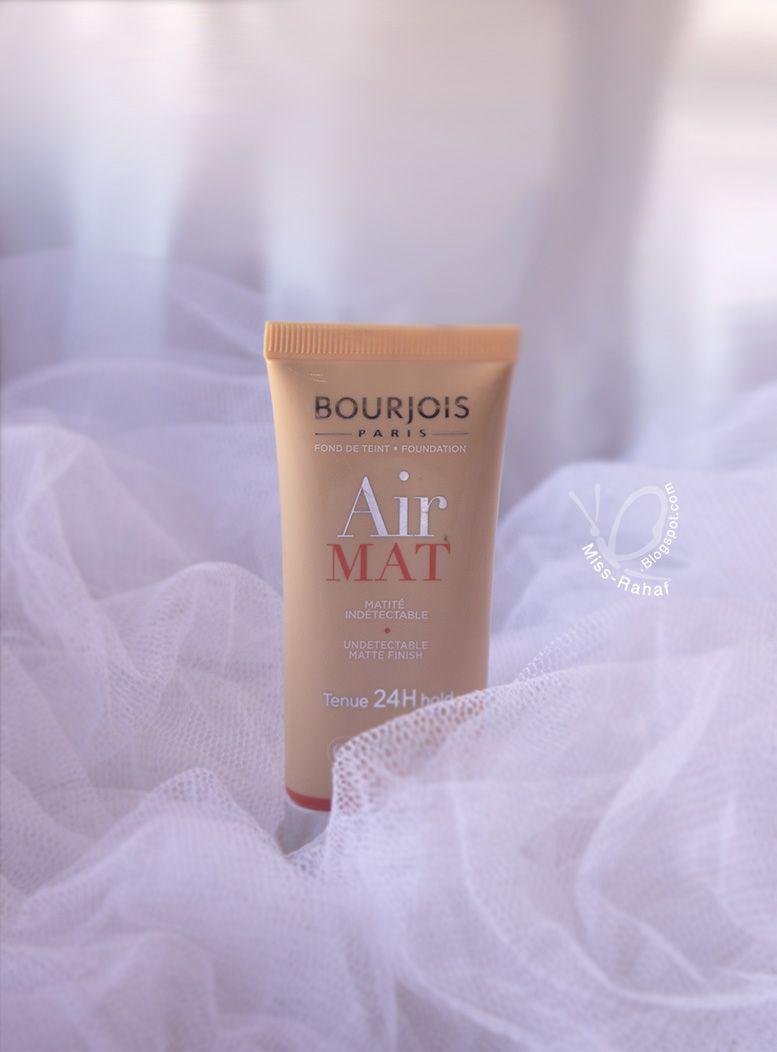 ريفيو فاونديشن آير مات من برجوا Bourjois Air Mat Foundation Mat Foundation Bourjois Air Mat Foundation