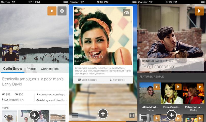MySpace for iOS redesigned, gets social radio and animated