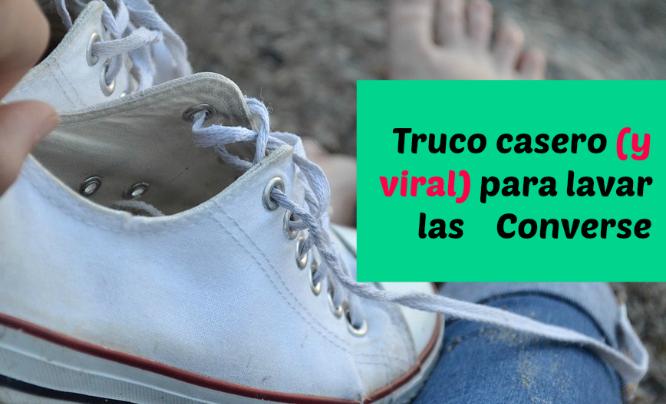 Fuente famoso tirar a la basura  Cómo limpiar o lavar las zapatillas Converse Blancas | Converse, Limpiar  zapatillas blancas, Zapatillas converse
