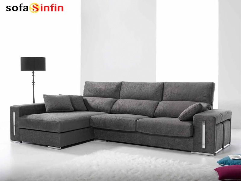 Sof con chaise longue modelo doha fabricado por quality for Sofas con chaise longue