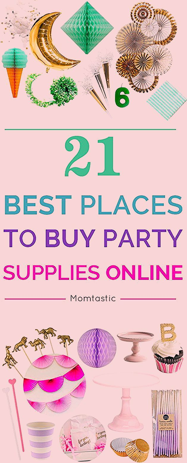 Photo of The Best Places to Buy Party Supplies on the Web