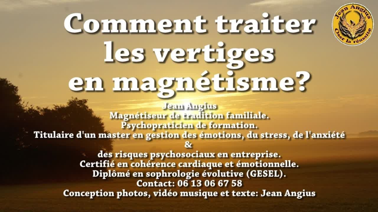 Traiter Les Vertiges Troubles De L Equilibre Acouphenes Par Magnetisme Magnetisme Vertige Magnetiseur