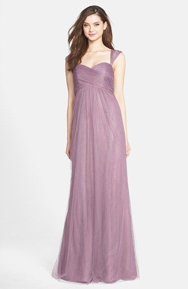 Lilac Color Jenny Yoo Willow Convertible Tulle Gown Nordstrom