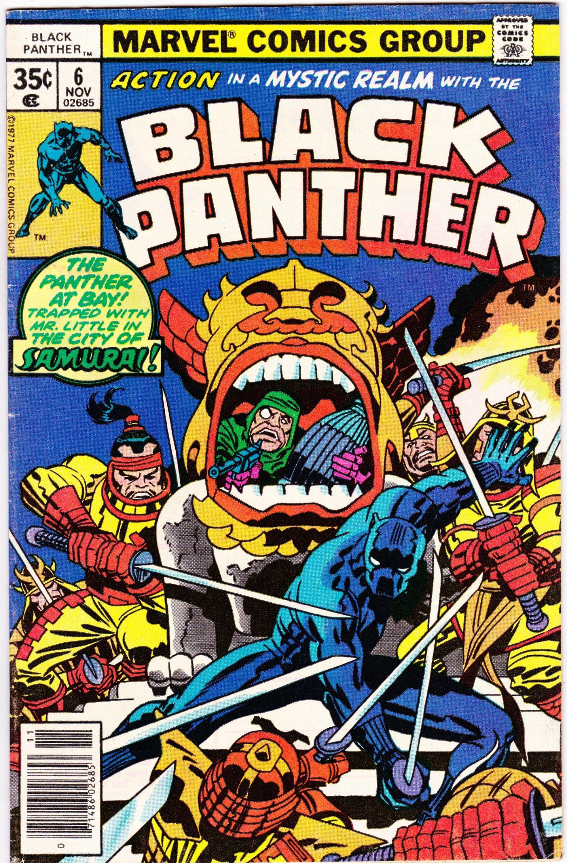 Black Panther #6 (1st Series 1977) November 1977   Marvel Comics    Grade VF -   - #1st #black #comics #grade #marvel #marvelcomicsart #marvelcomicsartwork #marvelcomicscharacters #marvelcomicscovers #marvelcomicsfunny #marvelcomicsstrip #marvelcomicsvintage #november #panther #series