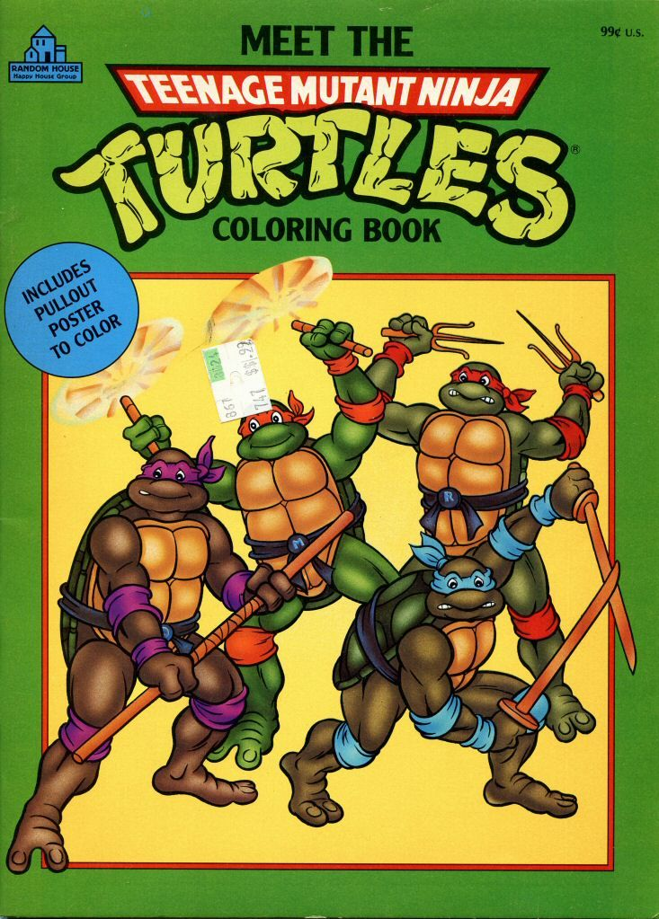 - 114.7735: Teenage Mutant Ninja Turtles Coloring Book Activity Book  More Toys Toys Online C… Coloring Books, Teenage Mutant Ninja Turtles,  Teenage Mutant
