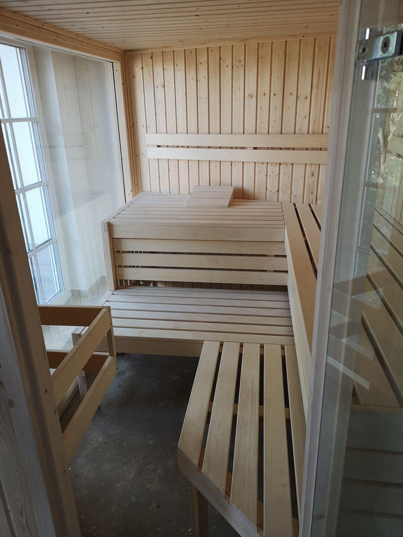 Sauna Einrichtung Nach Kunden Wunsch Angepasst Sauna