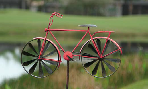 BicycleGifts.com   Red Bicycle Spinner Garden Ornament, $49.00 (http://