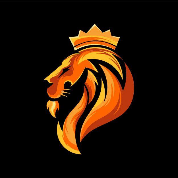 Head lion logo design Premium Vector   Premium Vector #Freepik #vector #logo #poster #design #template