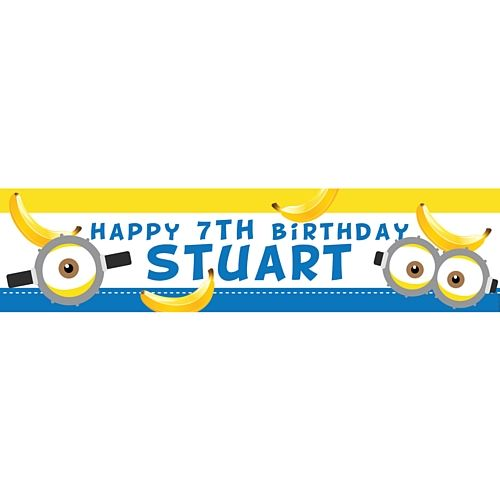 Add Your Name & Age Totally Bananas Happy Birthday