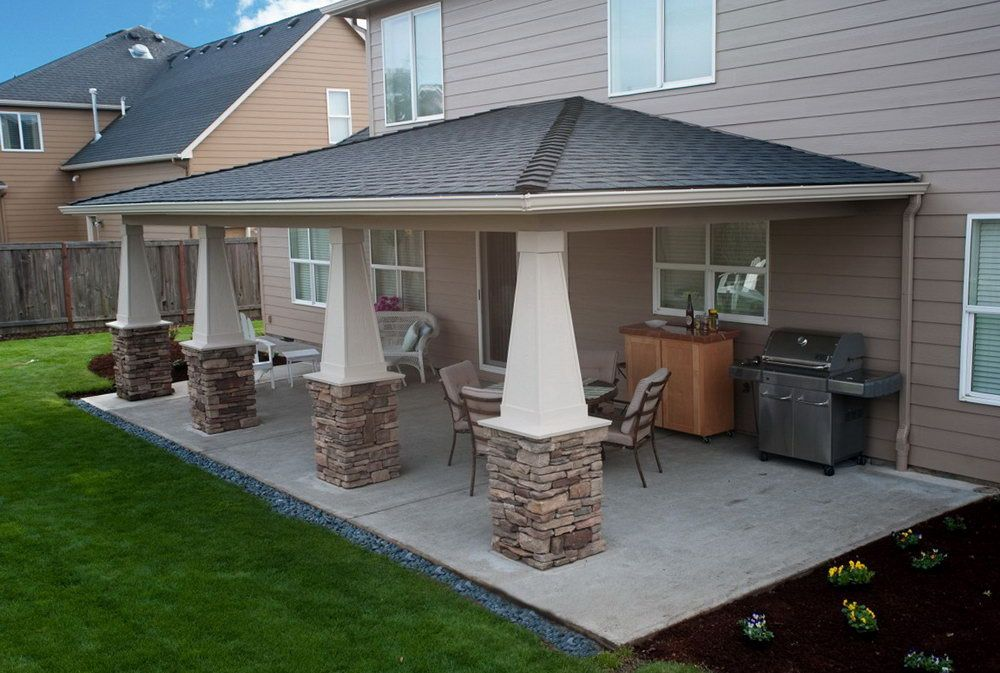 image result for covered patio ideas | outdoor living | pinterest ... - Covered Patio Ideas For Backyard