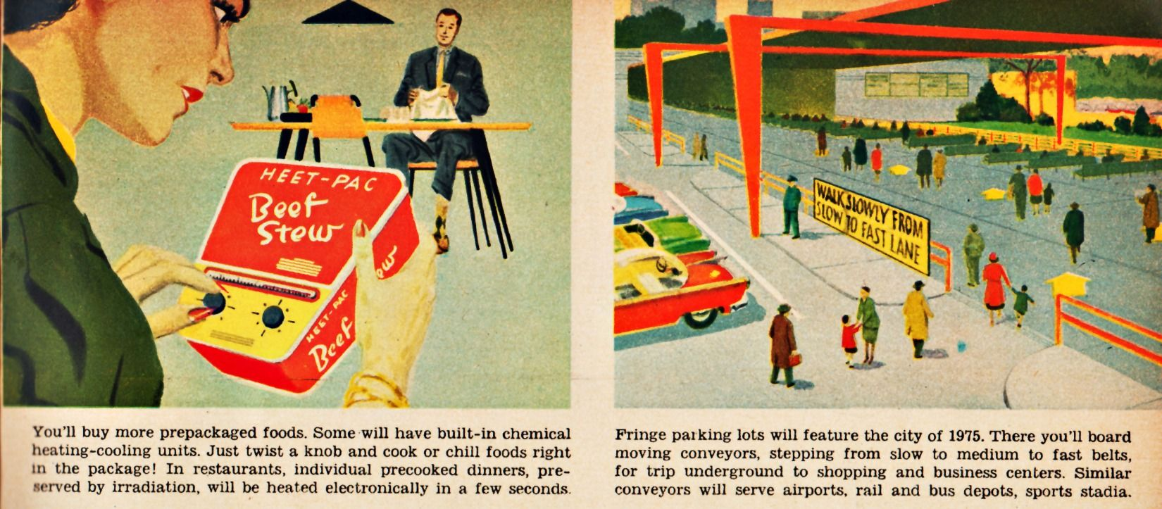 Predictions Of Family Life 20 Years From Now Description From Conceptrends Com I Searched For This World Of Tomorrow Retro Futurism Heating And Cooling Units