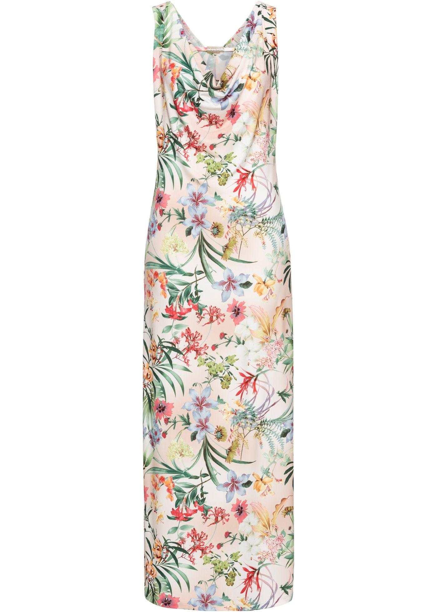 Maxikleid mit floralem Print (mit Bildern) | Kleider, Maxi ...
