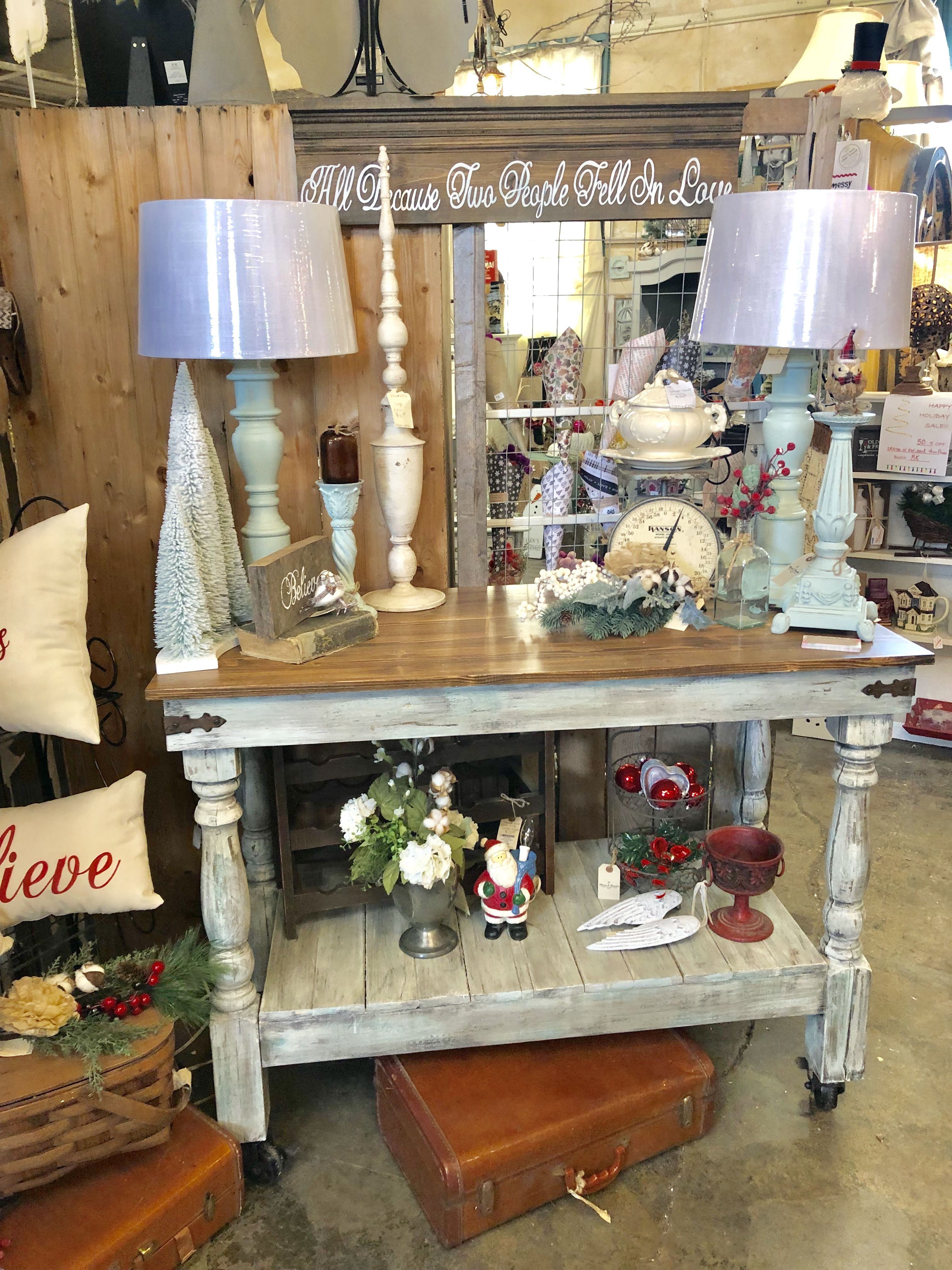Farmhouse Christmas Blooms Amp Branches Booth Space Three