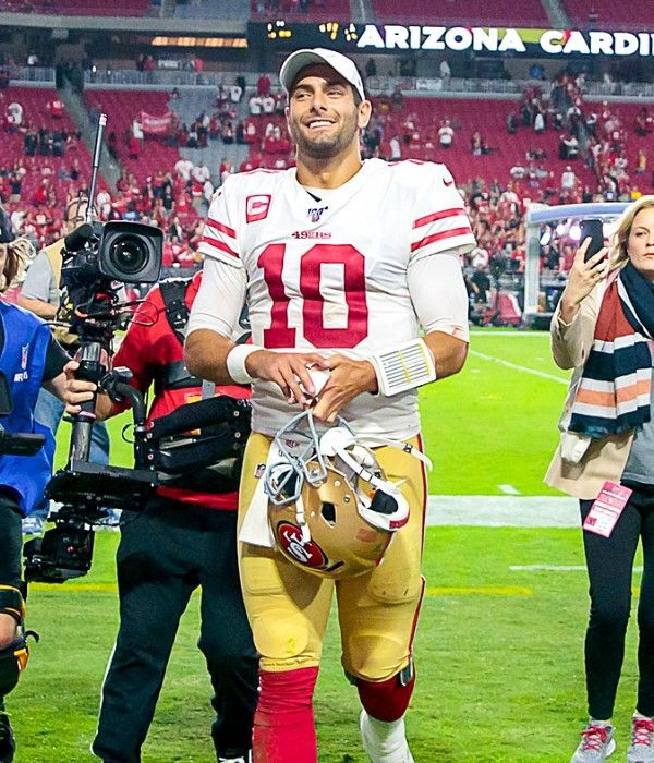 Undefeated 49ers grab top spot in most (but not all) Week