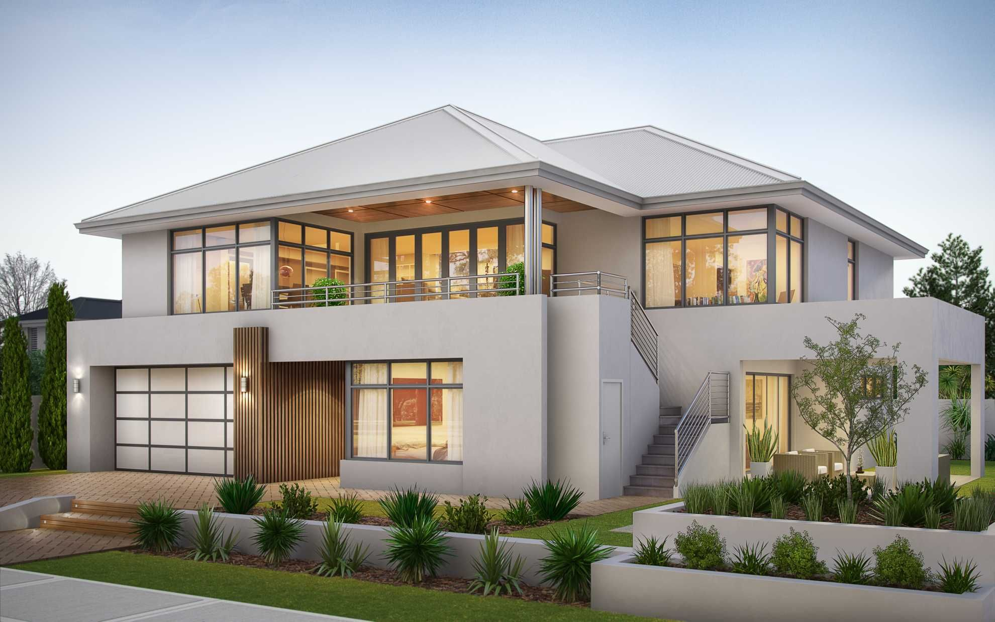 South Perth 2 Storey House Design Luxury House Designs