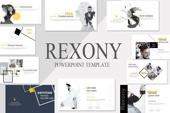 Rexony Creative Powerpoint Template By Aishwaryarai On