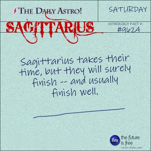 Sagittarius Daily Astro!: Ever tried an online tarot reading?  This one is great.  Visit iFate.com today!