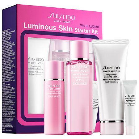 White Lucent Luminous Skin Starter Kit Shiseido Sephora