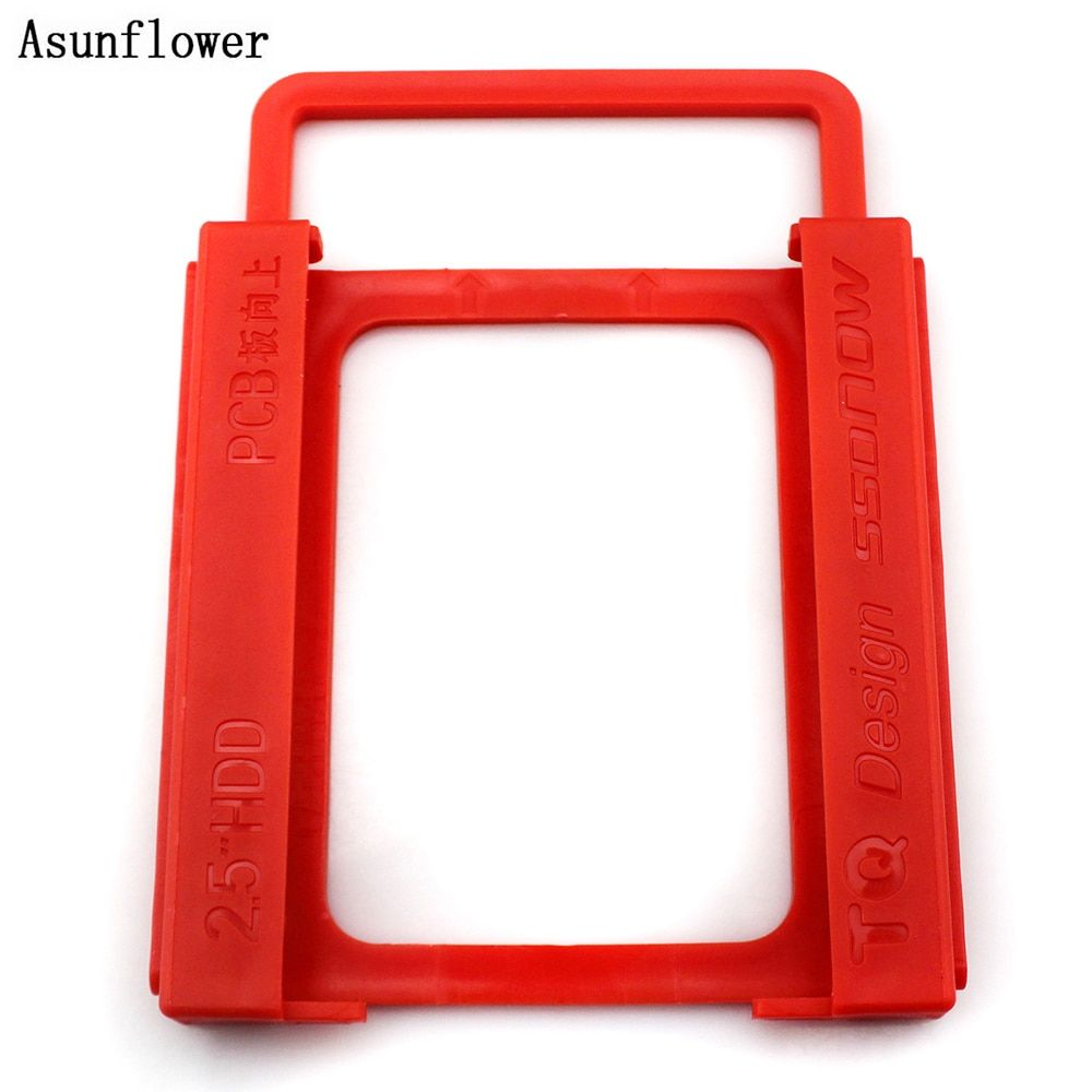 """2.5/"""" to 3.5/"""" SSD HDD Metal Adapter Mounting Bracket Hard Drive Holder for PC B3"""