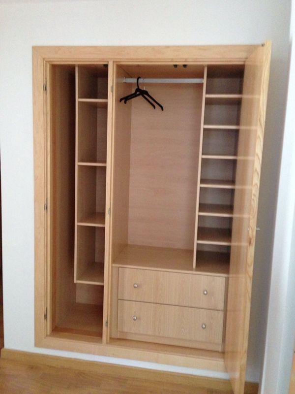 Grupo de roperos grupo de roperos empotrados muebles - Como distribuir armario empotrado ...