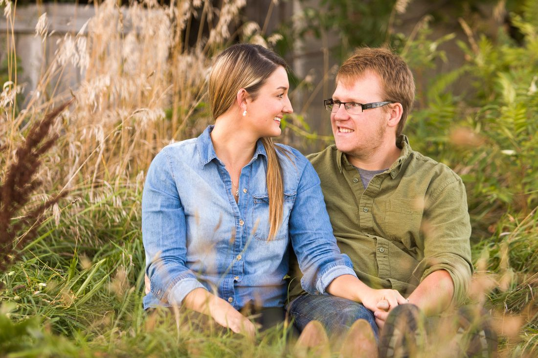 Country Engagement Photography. Environment portraits, Barrie Ontario.