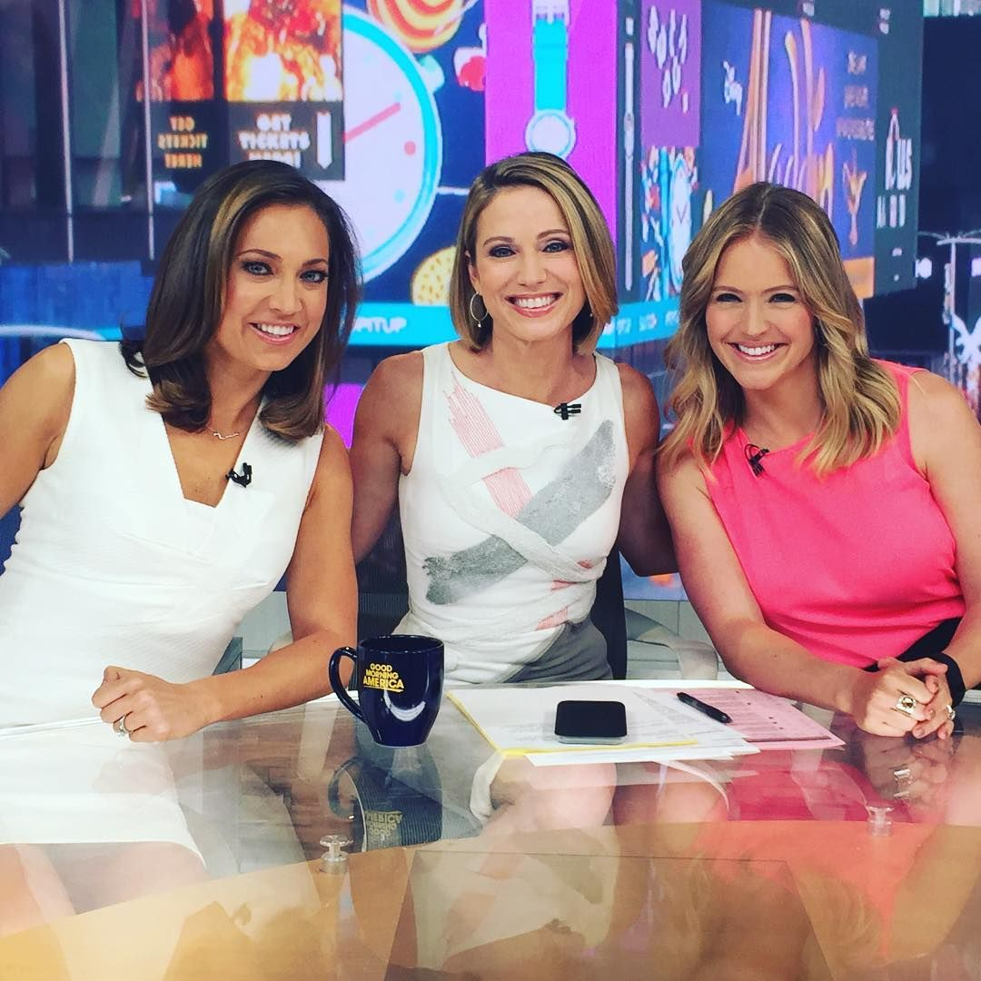 GMA's Ginger Zee, Amy Robach, And Sara Haines