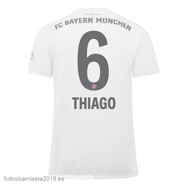 Réplicas Excelente NO.6 Thiago 2ª Camiseta Bayern de Múnich 2019 ...