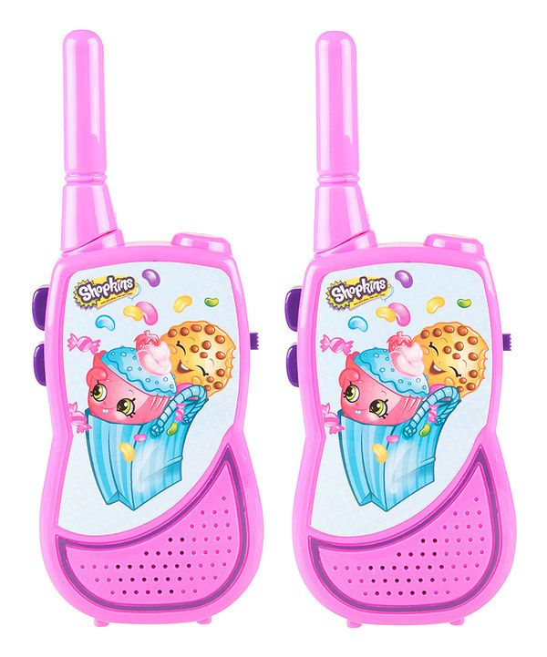 look at this shopkins night action walkie talkie on zulily today