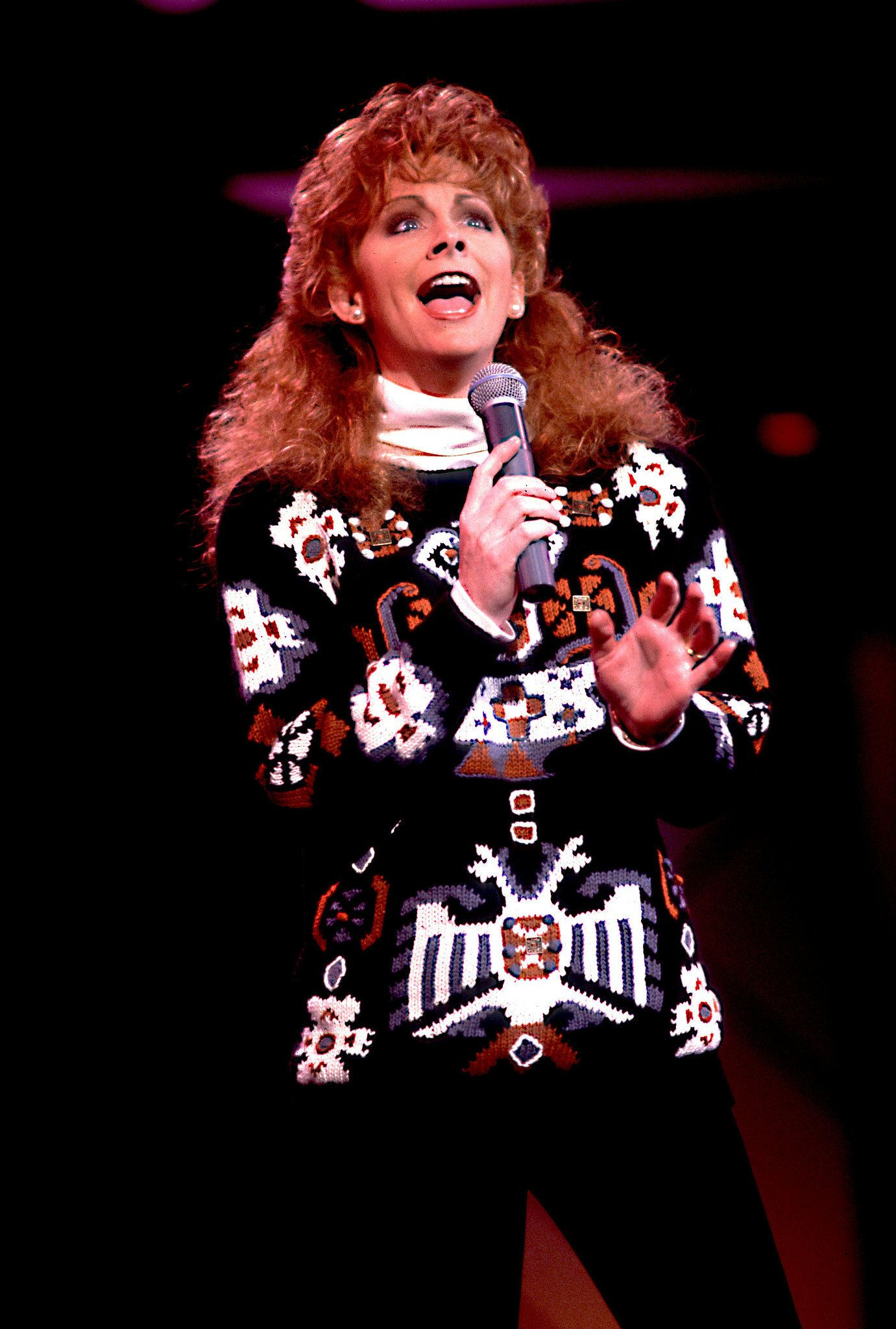 Reba Mcentire In 1991 Reba Mcentire Country Music Stars Country Music Singers