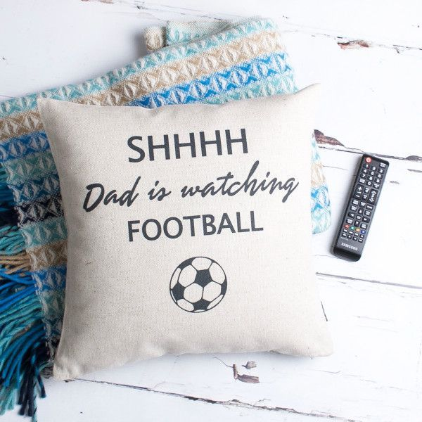 Gifts For Him Ideas : Personalised Football Fan Cushion ...