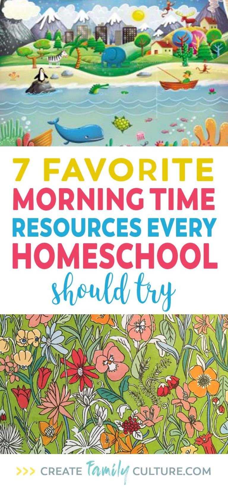 Photo of 7 Favorite Homeschool Morning Time Resources – Create Family Culture