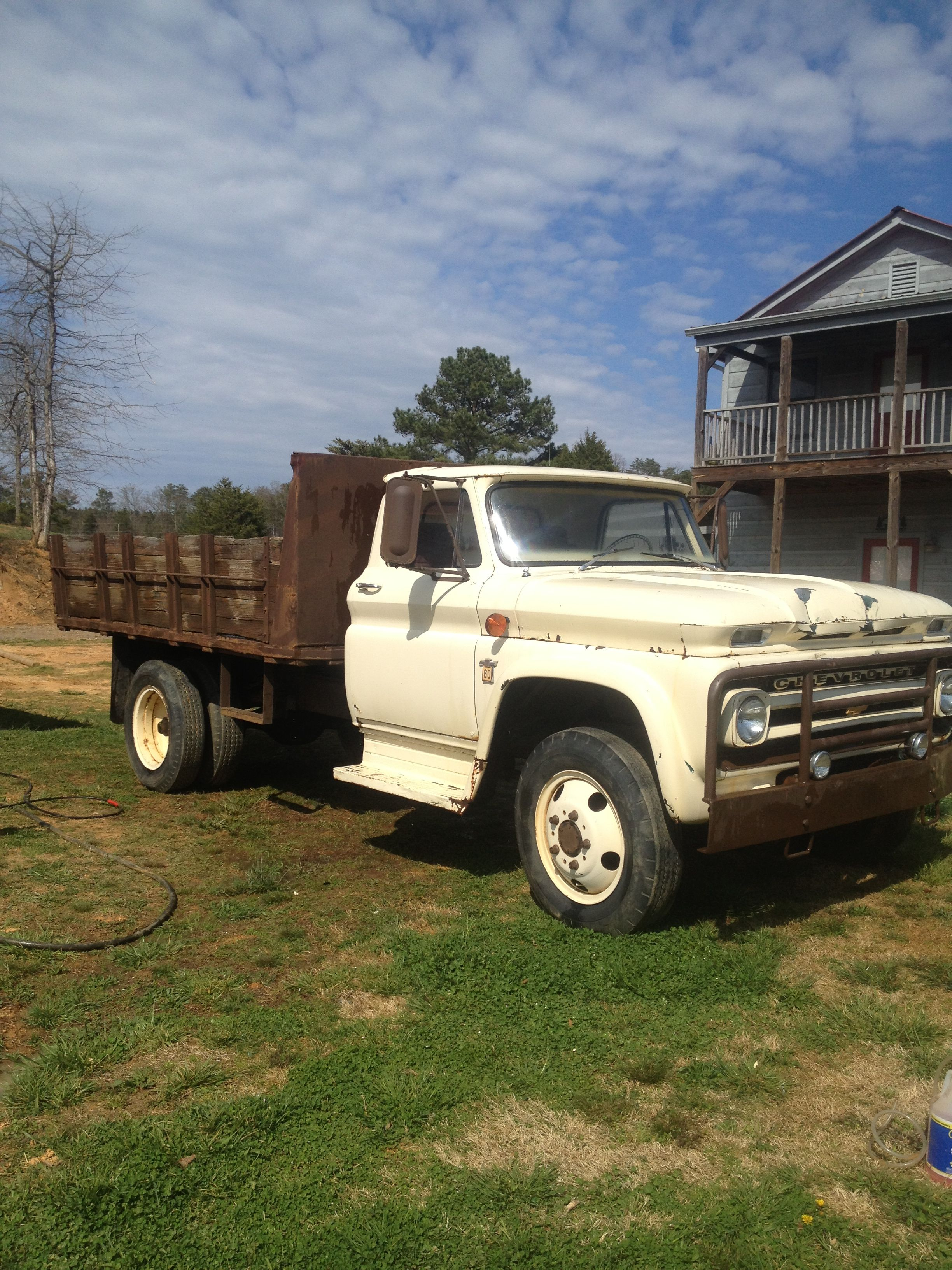 1964 Chevy C60 Dump Old School Work Horse Trucks And Motorcycles