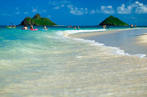 Most Por Beach In Hawaii Lanikai Oahu Beautiful Hotel Voucher Traveling