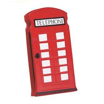Lulu Guinness phone box mobile case.