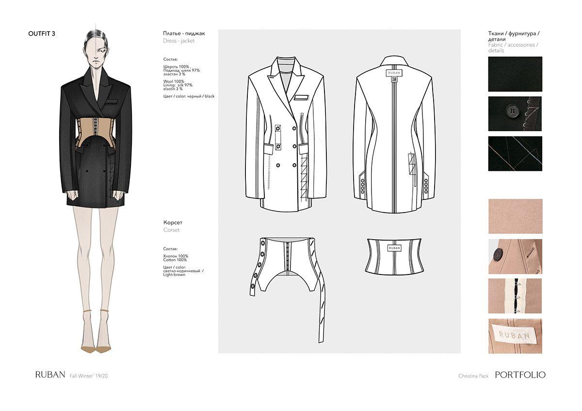 Photo of Fashion design portfolio