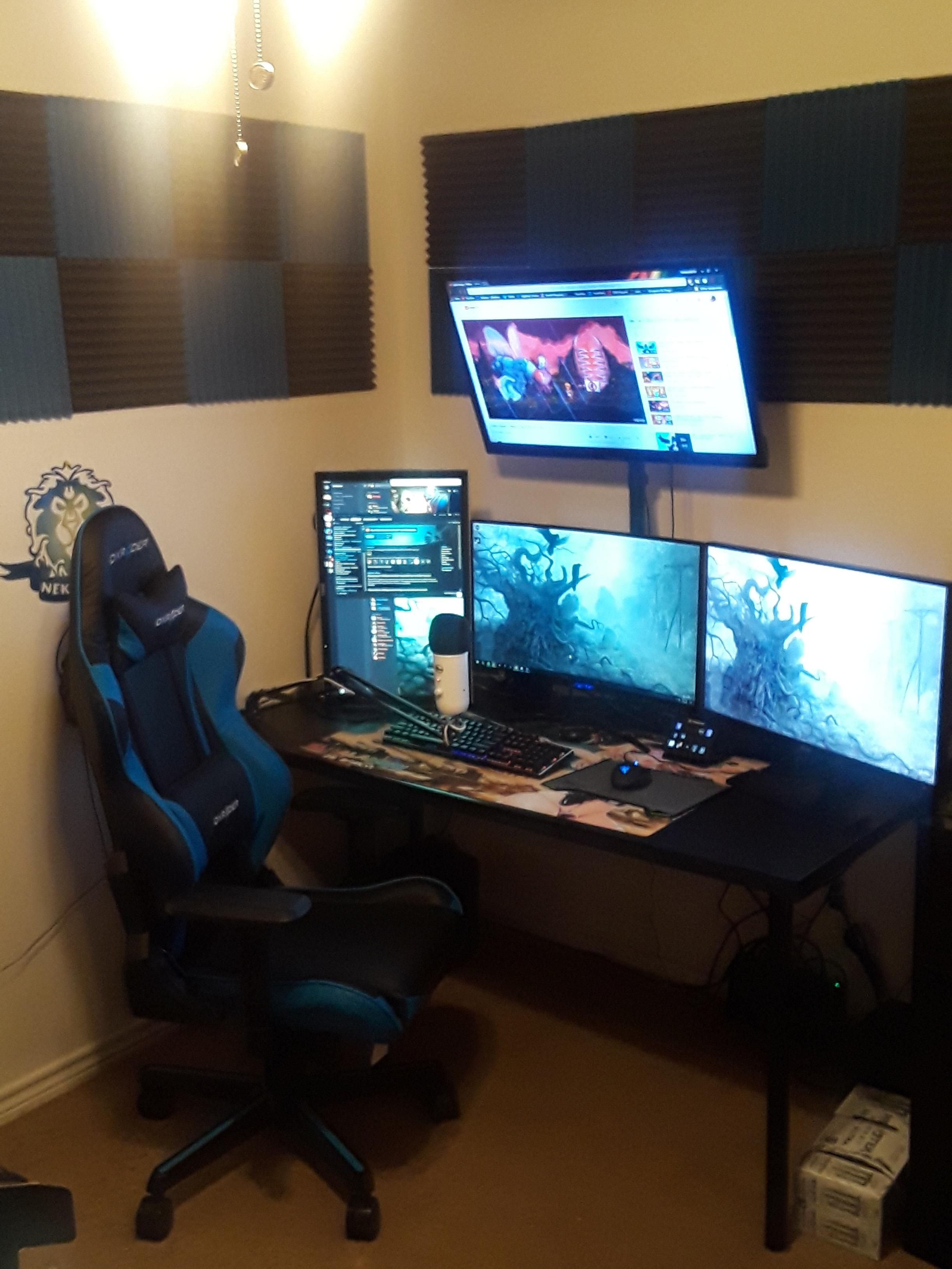 What Do Y All Think Of My Stream Setup With Images