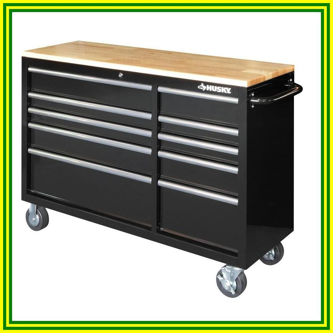 diy rolling workbench with drawers