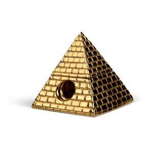 Brass Pyramid Pencil Sharpener!!!! This is so cute and a great gift for an art student! I took lots of drawing classes, and I could never find my sharpener.