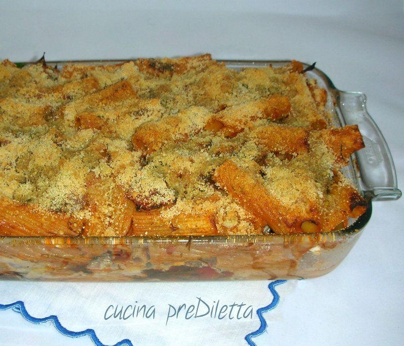 Pasta con finocchietto al forno cocina siciliana pasta for Ricette italiane primi piatti