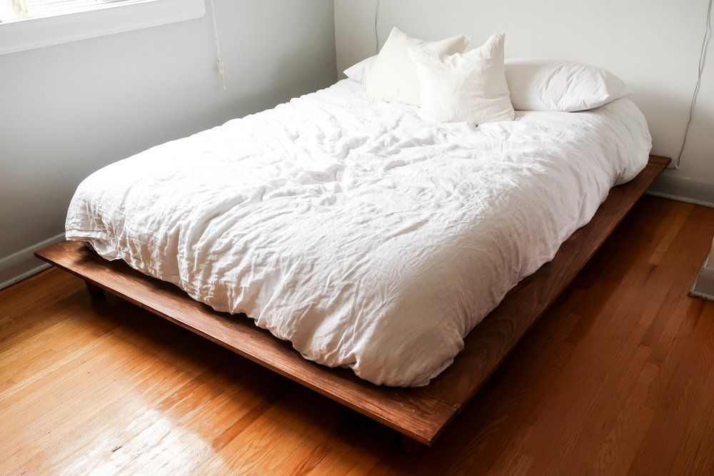 Today S Mission Is To Build Becky A Bed Her Mattress Has Been Sitting On The Floor Since She Mo Build A Platform Bed Diy Platform Bed Plans Platform Bed Plans