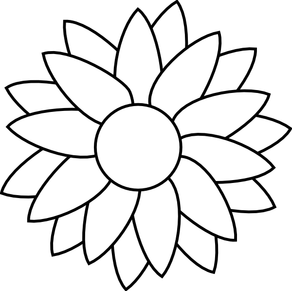 Flower free rhinestone template downloads sun flower template flower free rhinestone template downloads sun flower template clip art pronofoot35fo Gallery